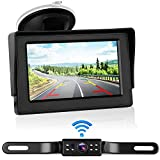 iStrong Digital Wireless Backup Camera System Kit for Car/Truck/Van/Pickup/Camper 4.3'' Monitor Rear/Front View