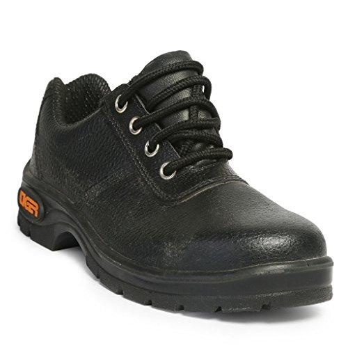 Tiger Ashi Hardware Black Safety Shoes – 7