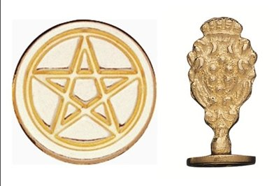 pentacle wax stamp - 1