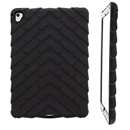 Gumdrop Cases Droptech for Apple iPad Pro 9.7 Rugged Tablet Case Shock Absorbing Cover Black A1673, A1674