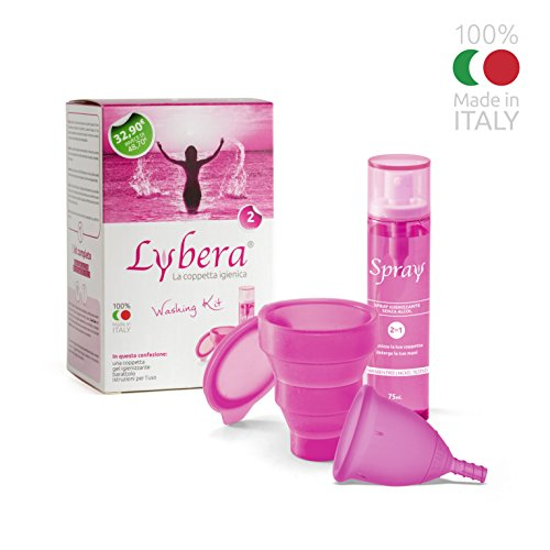 Menstrual Cup: The Complete Kit by Lybera (Size ()
