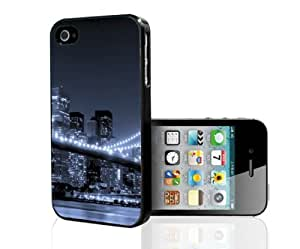 Beautiful City At Night Hard Snap on Phone Case (iPhone 4/4s)