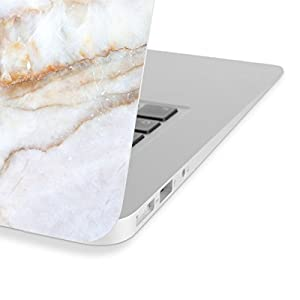 Koru Premium Vanilla Marble Vinyl Decal Skin Sticker Case Cover for Macbook Pro 13 inch Retina without CD Drive (Model A1425 and A1502)