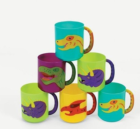 Fun Express Plastic Dinosaur Dozen