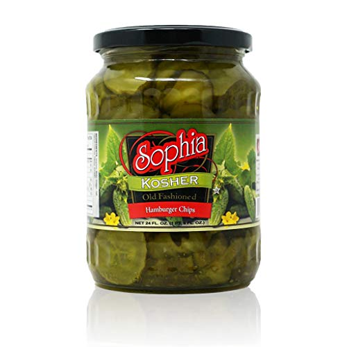 Sophia Pickles-Dill Hamburger Chips 24oz-3 pack