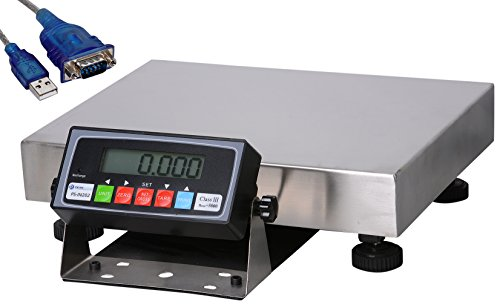 """Prime Scales Smart Scale with USB  Computer Cable & PS-Interface Software, 16"""" L x 5"""" H delicate"""