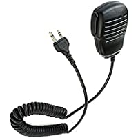 FANVERIM Handheld Shoulder Speaker Mic Compatible For Midland GMRS/FRS GXT/LXT Midland/Alan 2-pin Radio G5 M99 75-810 Nautico 3 Ocean SP-410 2 Two Way Radio