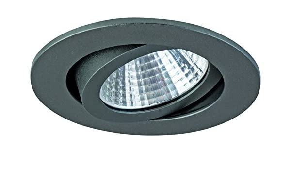 BRUMBERG LED-Einbaustrahler 2700K 350mA titan 12261643: Amazon.es: Electrónica