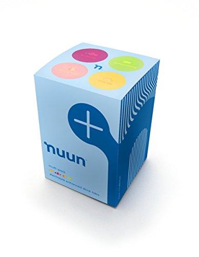 Nuun: Pastillas de bebida mejoradas con electrolitos de fórmulas anteriores, mezcla de frutos cítricos, caja de 4 tubos