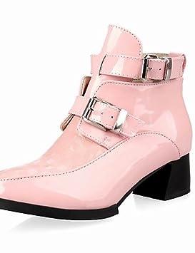 ZQ Zapatos de mujer-Tacón Robusto-Tacones / Botines / Puntiagudos-Tacones /