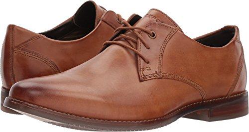 Rockport Men's Style Purpose Blucher Shoe, Cognac Leather, 10.5 M US ()
