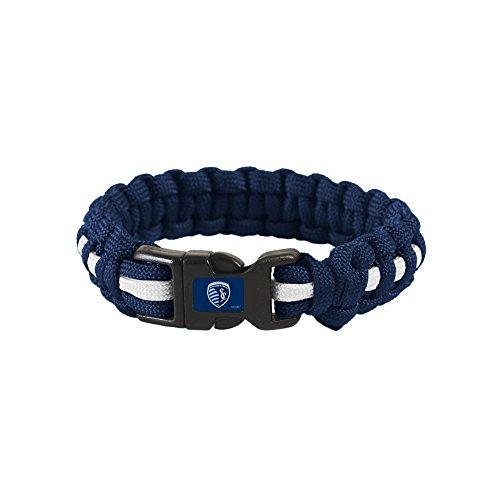 "Sporting Kansas City MLS L/XL 9"" Survival Bracelet"