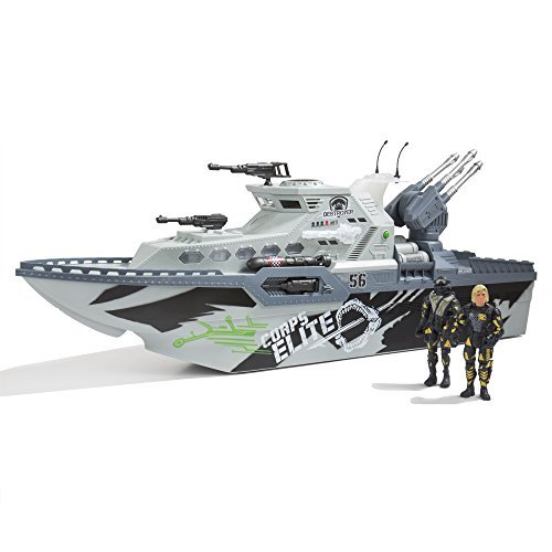 US Toys The Corps! L & S Battle Cruiser Set with 2 Fully Articulated Figures