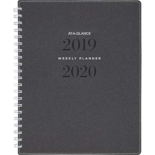 Collection Monthly - AT-A-GLANCE 2019-2020 Academic Year Weekly & Monthly Planner, Large, 8-1/2