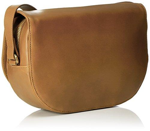 Royal RepubliQ Raf Curve Handbag, Borse a spalla Donna Beige (Natural)