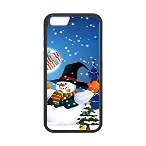 Case Cover For Apple Iphone 6 Plus 5.5 Inch Christmas Phone Back Case Art Print Design Hard Shell Protection FG095227