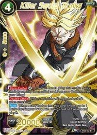Dragon Ball Super TCG - Killer Sword Trunks - Series 3 Booster: Cross Worlds - SD3-02