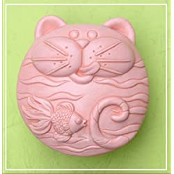 Cat like Fish 50293 Craft Art Silicone Soap mold Craft Molds DIY Handmade soap molds