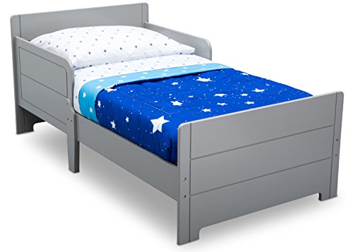 Find Cheap Delta Children MySize Toddler Bed, Grey