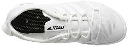 adidas Terrex Cc Boat, Zapatillas de Running Para Asfalto Hombre Blanco (Ftwbla/Ftwbla/Negbas)