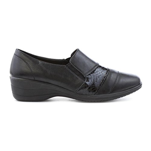Softlites Pattern Black Shoe Black Womens Croc Comfort 0Br0t
