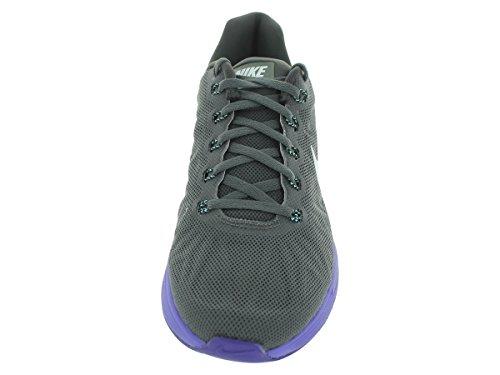 Nike Femmes Lunarglide 6 Chaussure De Course Moyenne Cendres / Hyper Turquoise / Hyper Grape / Noir