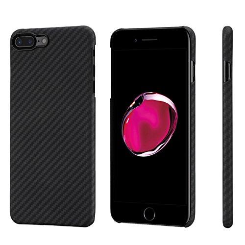 iPhone 7 Plus Hülle PITAKA Schutzhülle aus Aramid (Kugelsicheres Material) Dünne Hochwertige Schutzhülle mit Schutzfolie