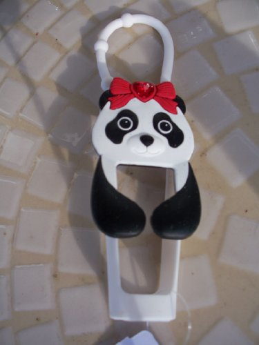 Panda Lipgloss Holder Black White