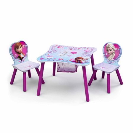 Disney Frozen Table and Chair Set with Storage by TT89494FZ (Image #2)