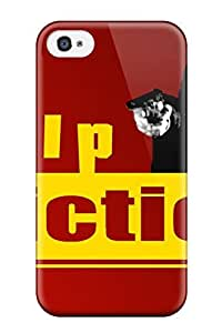 DxaogSR6044FQtkb Tpu Case Skin Protector For Iphone 4/4s Pulp Fiction With Nice Appearance