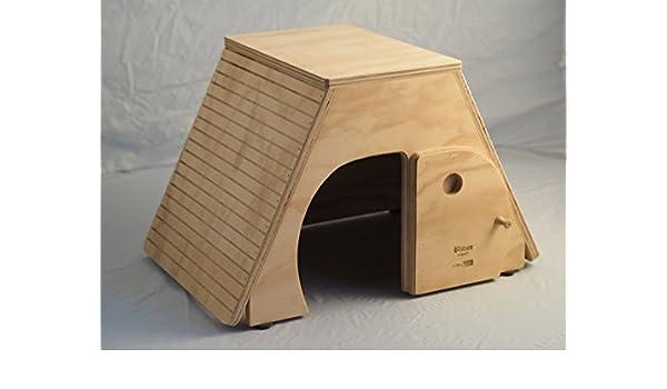 Egitto tamaños XL, casita para gatos, rascador, made in Italy 100%: Amazon.es: Hogar