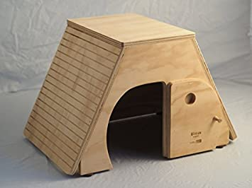 Egipto Talla XL, casita Indoor Caseta para gatos, Blitzen Made in Italy 100%