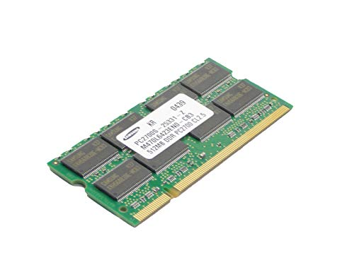 Samsung 512MB DDR RAM PC-2700S CL2.5 M470L6423EN0-CB3 ()