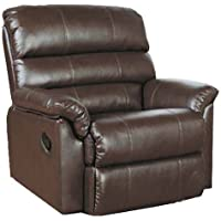 Body Balance System Harmonic Massage Leather Recliner