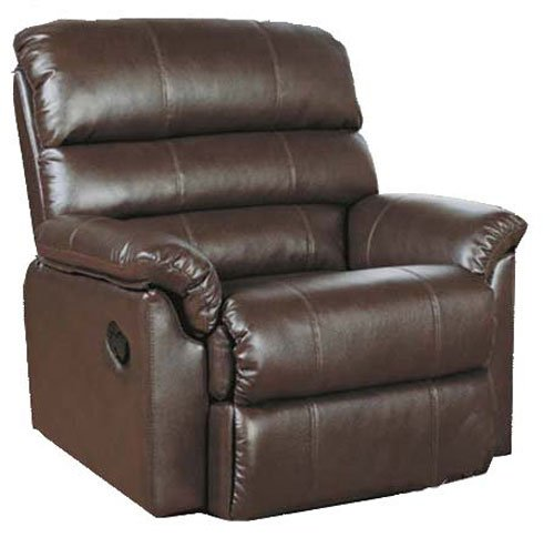 Body Balance System Harmonic Massage Leather Recliner (Brown)