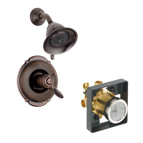 Delta Delta KSDVI-T17255-RB Victorian Shower Kit Pressure-Balance Dual-Function Cartridge, Venetian Bronze Venetian Bronze