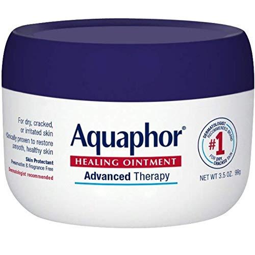 (Aquaphor First Aid Ointment, Jar, 3.5 oz)