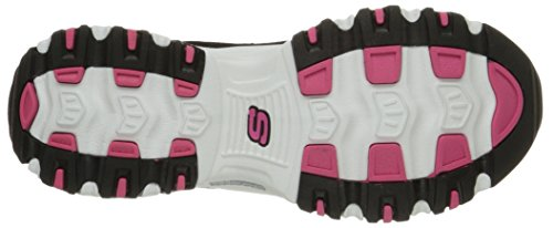 Pink D'Lites Nero Black Skechers Sneaker White donna nbsp;Centennial 0pwaHRqxH