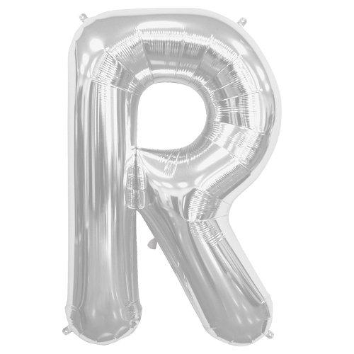 34 34 Northstar Foil Balloon 00213 Letter R-Silver