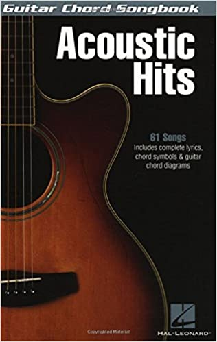 Amazon.com: Acoustic Hits - Guitar Chord Songbook (0884088534981 ...