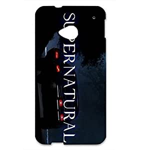 Supernatural SPN Perfect Protecter Hard Plastic Case Cover For Htc One M7,3D