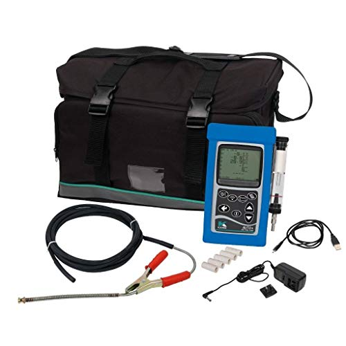 Ansed Professional Portable Handheld Exhaust Gas HC, O2, CO, CO2, NOX, Lambda, Diagnostic Emissions Analyzer Sniffer Tester Tool Kit