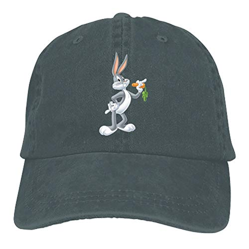 Bugs Bunny Classic Washed Cotton Baseball Cap Hip Hop Adjustable Dad Hat