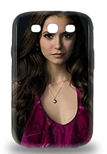 Hot New Nina Dobrev Canadian Female The Vampire Diaries 3D PC Case Cover For Galaxy S3 With Perfect Design ( Custom Picture iPhone 6, iPhone 6 PLUS, iPhone 5, iPhone 5S, iPhone 5C, iPhone 4, iPhone 4S,Galaxy S6,Galaxy S5,Galaxy S4,Galaxy S3,Note 3,iPad Mini-Mini 2,iPad Air )