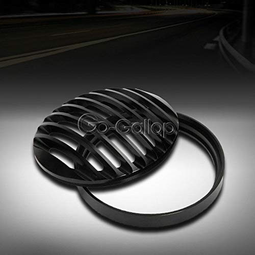 REFIT Motorcycle Black CNC Aluminum Headlight Grille Cover for Harley Sportster XL 883 1200 2004-2014 2013 2012 2011 2010 09 08 07 06