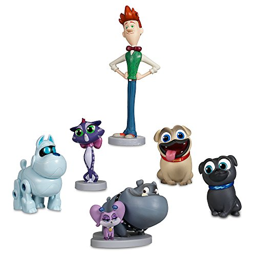 Disney Junior Puppy Dog Pals 6 Figure Play Set