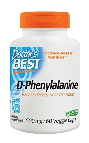 Doctors Best D Phenylalanine Non GMO Gluten