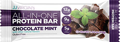 Reignite Wellness Cocoa Mint Protein Bar – Gluten-Free Nutrition Bar with 10g of Protein – Dark Cocoa Mint Flavor (1.94…