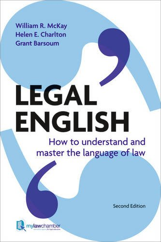 Legal English: How to Understand & Master the Language of Law, Uk Edition by Prentice Hall