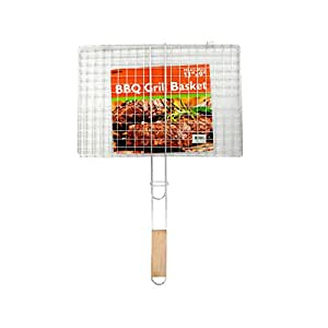 Shop Bulk Buys SBB Barbecue Grill Basket, Wholesale Case of 24